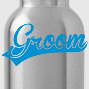 Groom T-Shirts - Water Bottle