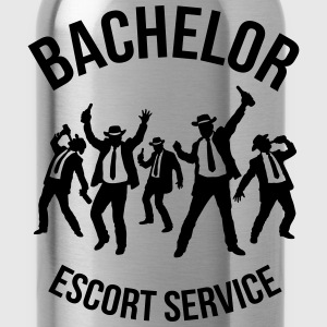 Bachelor Escort Service (Stag Party) T-Shirts - Water Bottle