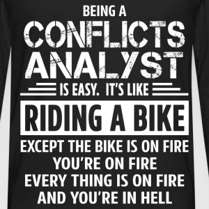 Conflicts Analyst - Men's Premium Long Sleeve T-Shirt