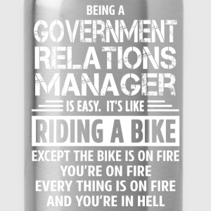 Government Relations Manager - Water Bottle