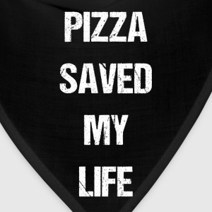 Pizza Saved My Life Italian Foodie T-Shirts T-Shirts - Bandana