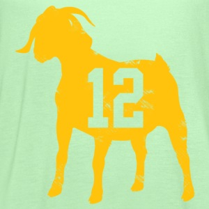 Aaron Rodgers GOAT T-Shirts - Women's Flowy Tank Top by Bella