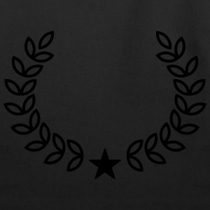 Champion Wreath, Star, Winner, Team, Number One T-Shirts - Eco-Friendly Cotton Tote