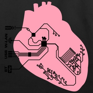 pacemaker heart implant T-Shirts - Eco-Friendly Cotton Tote