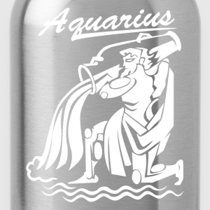 Aquarius Zodiac - Water Bottle