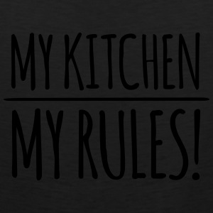 my-kitchen-my-rules Aprons - Men's Premium Tank