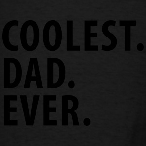 Coolest Dad Ever (dh) Aprons - Men's T-Shirt