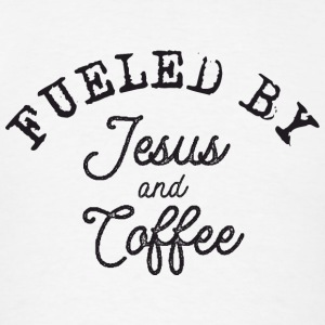 Fueled by Jesus and Coffe Sportswear - Men's T-Shirt