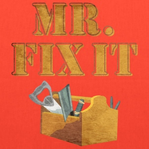 Mr. Fix-It 2 T-Shirts - Tote Bag