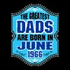 The Greatest Dads Are Born In June 1966 T-Shirts - Men's Premium T-Shirt