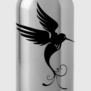 Bird Of Paradise Silhouette - Water Bottle