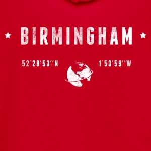 Birmingham T-Shirts - Unisex Fleece Zip Hoodie by American Apparel
