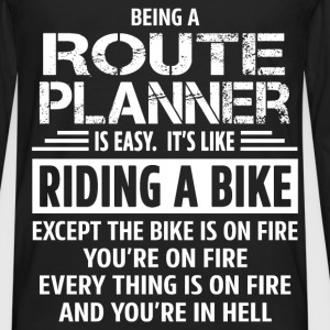 Route Planner - Men's Premium Long Sleeve T-Shirt