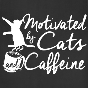 Cats and Caffeine T-Shirts - Adjustable Apron