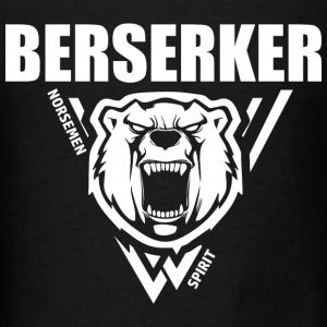 Berserker Vikings White Hoodies - Men's T-Shirt