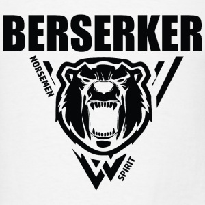 Berserker Vikings Black Hoodies - Men's T-Shirt