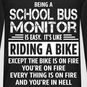 School Bus Monitor - Men's Premium Long Sleeve T-Shirt