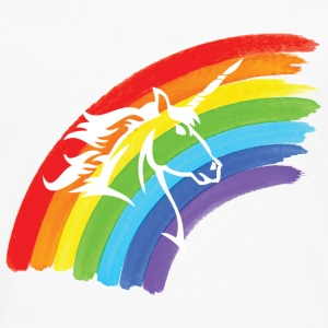 Rainbow & Unicorn T-Shirts - Men's Premium Long Sleeve T-Shirt
