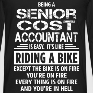 Senior Cost Accountant - Men's Premium Long Sleeve T-Shirt