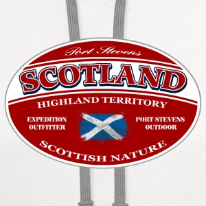 Scotland  T-Shirts - Contrast Hoodie