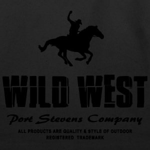 Western - Cowboy & Horse T-Shirts - Eco-Friendly Cotton Tote