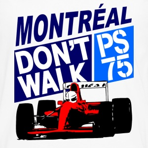 Montreal  - Formula 1 Racer T-Shirts - Men's Premium Long Sleeve T-Shirt