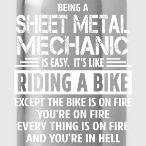 Sheet Metal Mechanic T-Shirts - Water Bottle