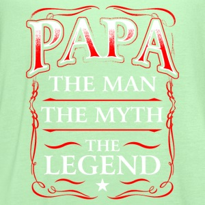 Fathers Day Shirt Papa The Man The Myth The Legend T-Shirts - Women's Flowy Tank Top by Bella