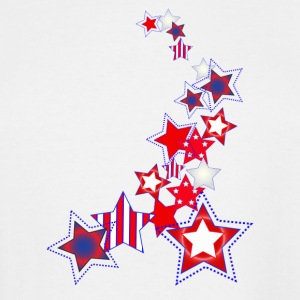 Stars and Stripes - Men's Tall T-Shirt