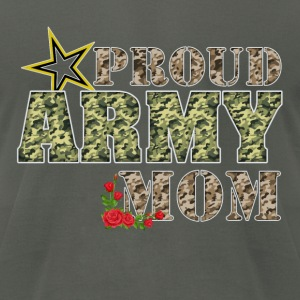 Proud Army Mom R Hoodies - Men's T-Shirt by American Apparel