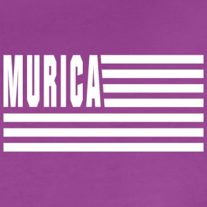 4th Of July Gift Murica White Clean Tanks - Women's Premium T-Shirt