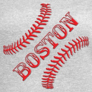 BOSTON BASEBALL - Women's Vintage Sport T-Shirt