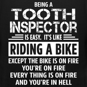 Tooth Inspector T-Shirts - Men's Premium Tank