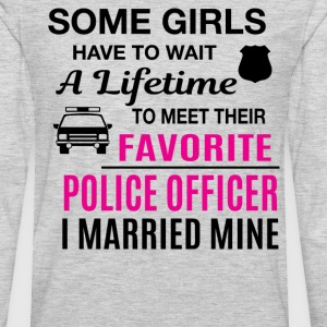 Police Officer Wife - Men's Premium Long Sleeve T-Shirt