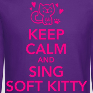 Keep calm and sing soft kitty Women's T-Shirts - Crewneck Sweatshirt