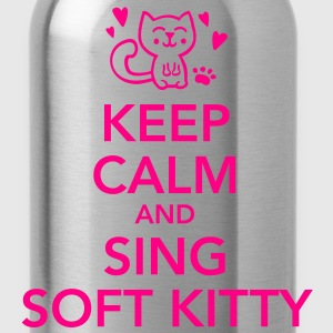 Keep calm and sing soft kitty Women's T-Shirts - Water Bottle