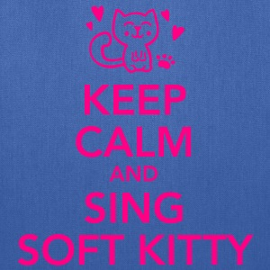 Keep calm and sing soft kitty Women's T-Shirts - Tote Bag