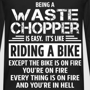 Waste Chopper - Men's Premium Long Sleeve T-Shirt
