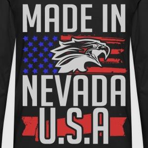 nevada 2.png T-Shirts - Men's Premium Long Sleeve T-Shirt