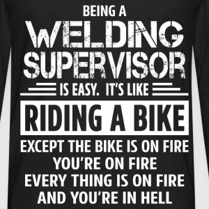 Welding Supervisor - Men's Premium Long Sleeve T-Shirt