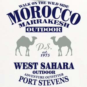 Morocco T-Shirts - Contrast Hoodie