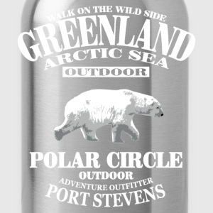 Polar Bear - Greenland T-Shirts - Water Bottle