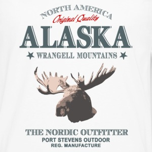 Moose - Alaska T-Shirts - Men's Premium Long Sleeve T-Shirt