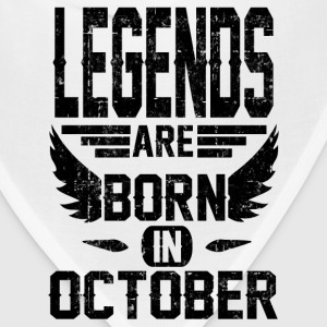 LEGEND OCTOBER 1.png T-Shirts - Bandana