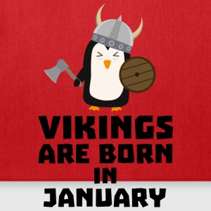 Vikings are born in January Smwc7 Caps - Tote Bag