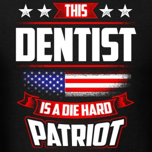 4th Of July Dentist Patriot Shirt Gift Sportswear - Men's T-Shirt