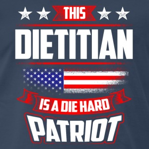 4th Of July Dietitian Patriot Shirt Gift Sportswear - Men's Premium T-Shirt