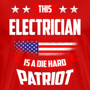 4th Of July Electrician Patriot Shirt Gift Sportswear - Men's Premium T-Shirt