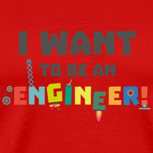 Be an Engineer Sf792 Caps - Men's Premium T-Shirt