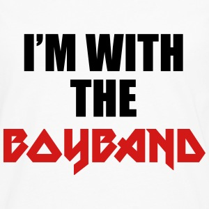 I'm with the boyband T-Shirts - Men's Premium Long Sleeve T-Shirt